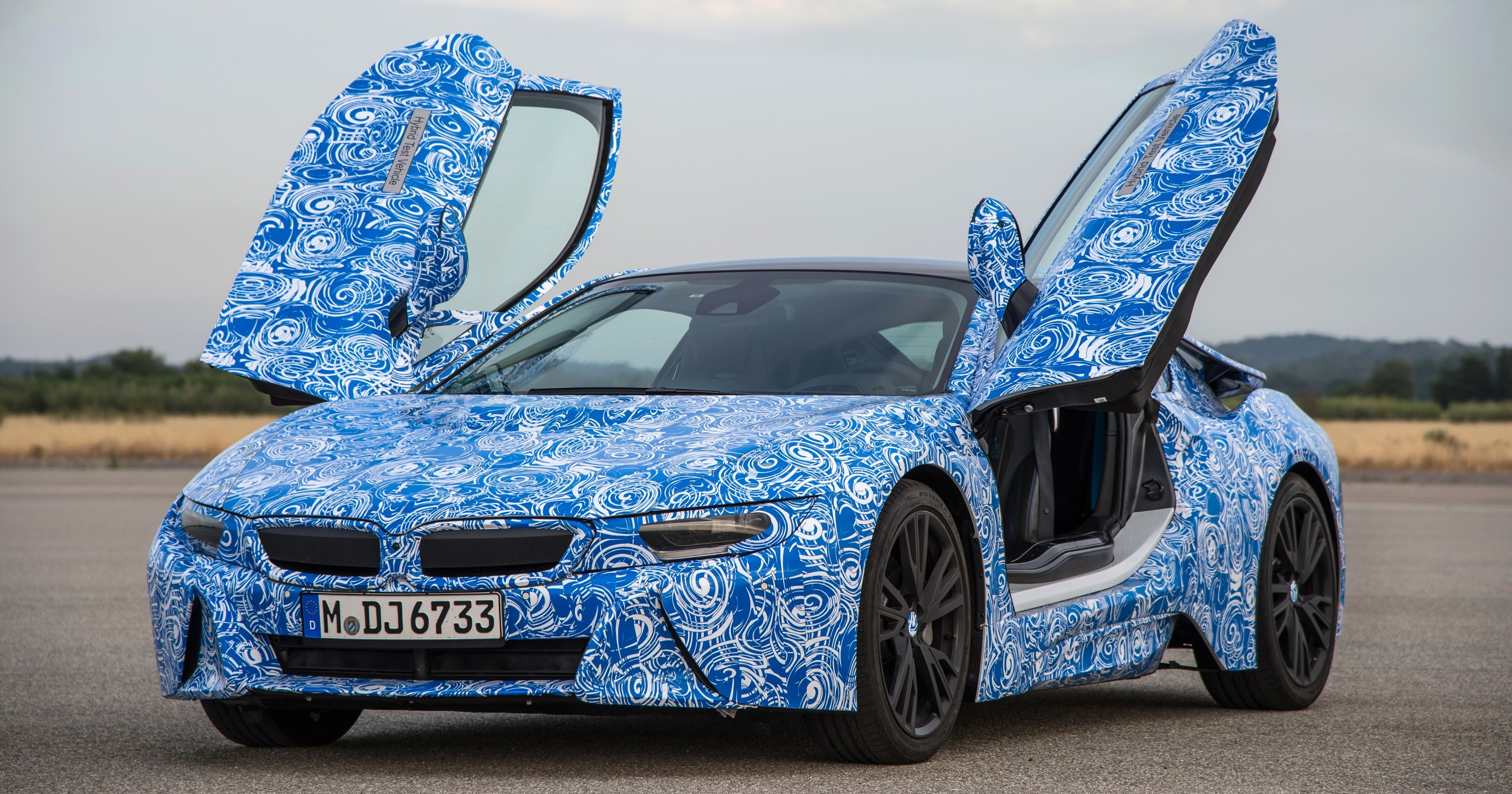 Bmw Vehicle Full Form >> Bmw I8 To Make Production Debut At Frankfurt Show Paul Tan Image