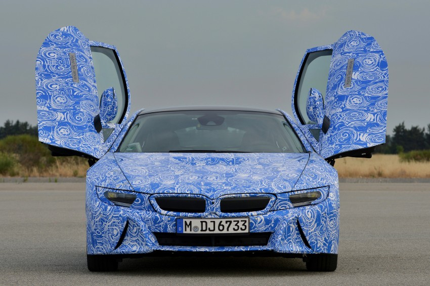 BMW i8 to make production debut at Frankfurt show Image #191804