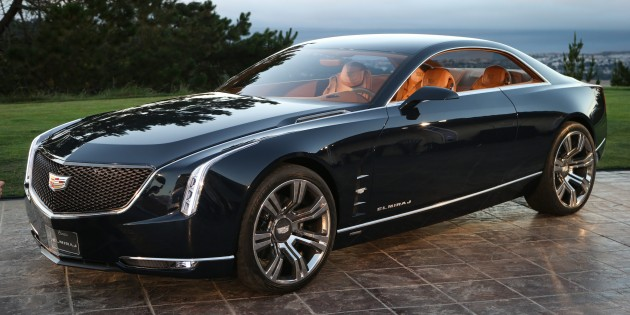 Cadillac Elmiraj Concept Envisioning A Four Seat Luxury Coupe