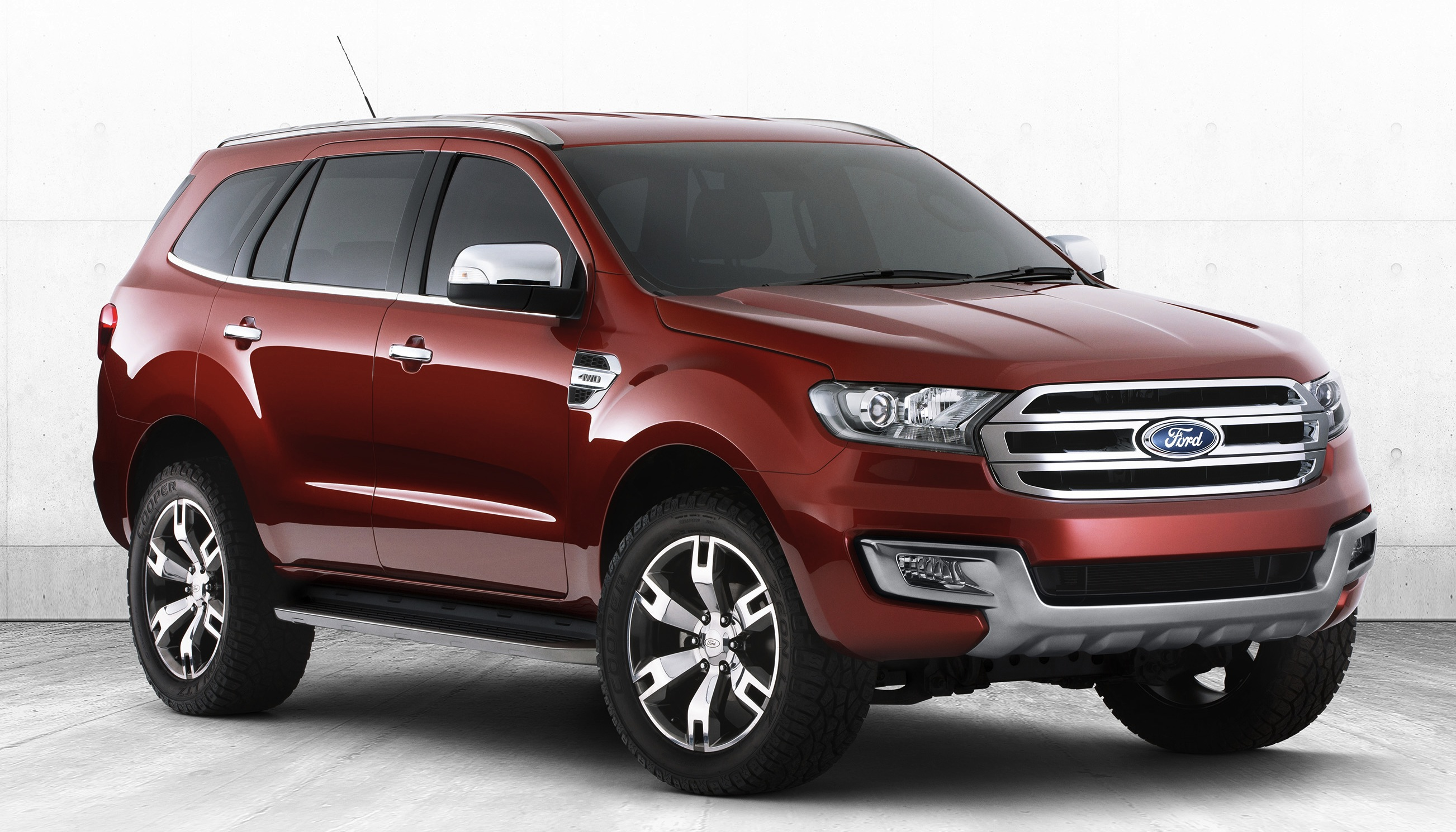 Ford Everest Concept Revealed Production Version In 2015