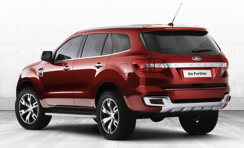 Ford Everest Concept SUV revealed – Blue Oval also unveils transformation plan for Australia Image #192546