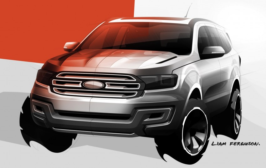Ford Everest Concept SUV revealed – Blue Oval also unveils transformation plan for Australia Image #192547