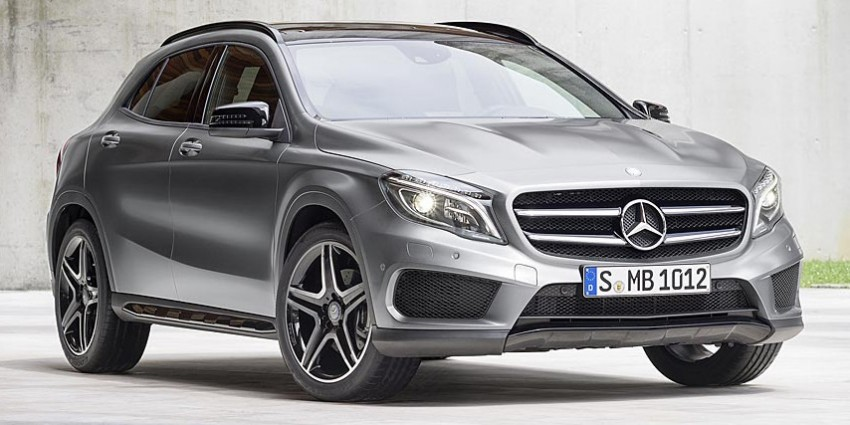 Mercedes-Benz GLA-Class – first official photos Image #192376
