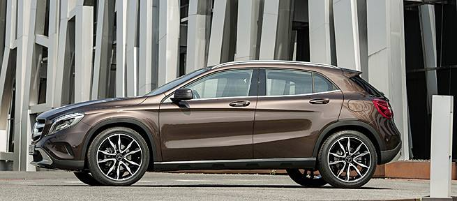 Mercedes-Benz GLA-Class – first official photos Image #192388