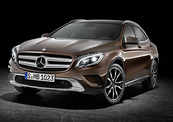 Mercedes-Benz GLA-Class – first official photos Image #192390