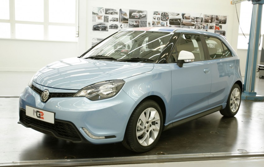 MG3 UK prices announced, range tops out at RM50k Image #191386
