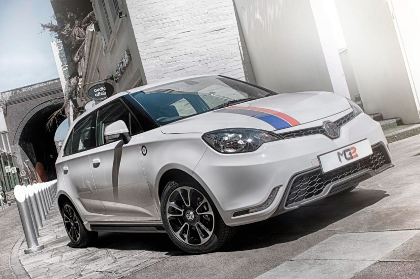 MG3 UK prices announced, range tops out at RM50k Image #191387