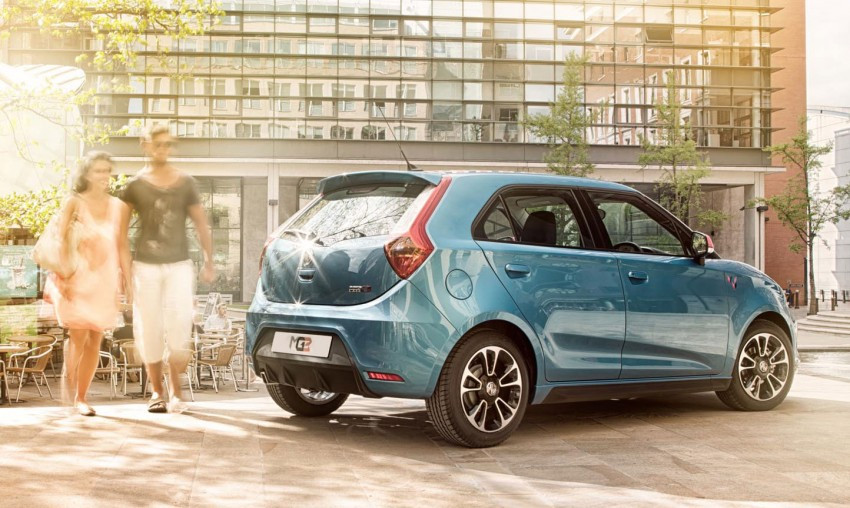MG3 UK prices announced, range tops out at RM50k Image #191389