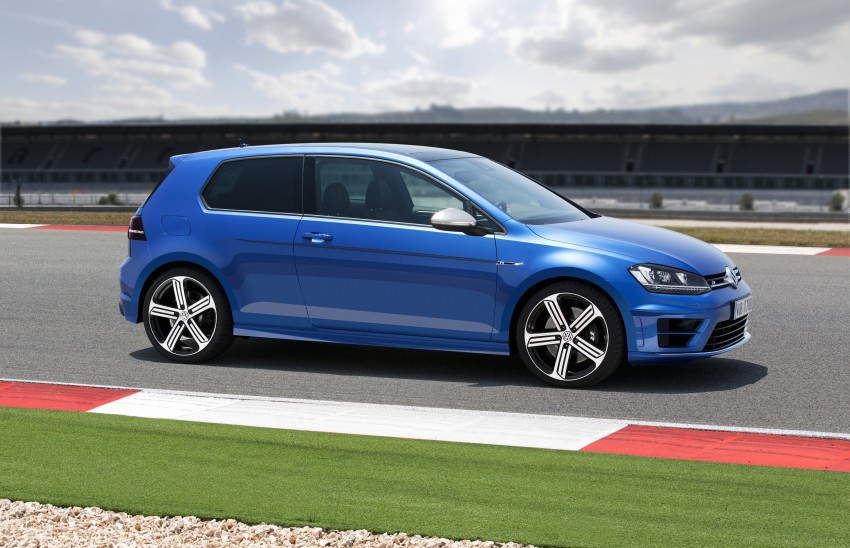 Volkswagen Golf R Mk7 first details – 300 PS, AWD Image #221270