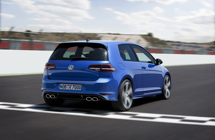 Volkswagen Golf R Mk7 first details – 300 PS, AWD Image #221271