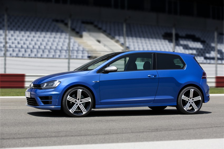 Volkswagen Golf R Mk7 first details – 300 PS, AWD Image #221272