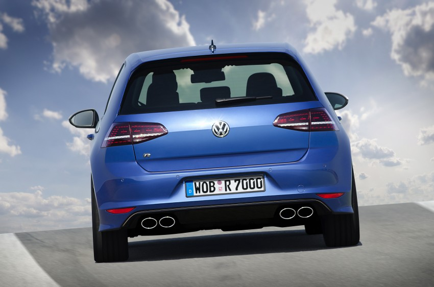 Volkswagen Golf R Mk7 first details – 300 PS, AWD Image #221274