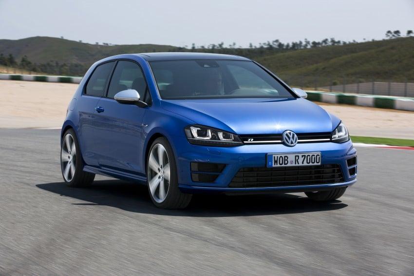 Volkswagen Golf R Mk7 first details – 300 PS, AWD Image #221283