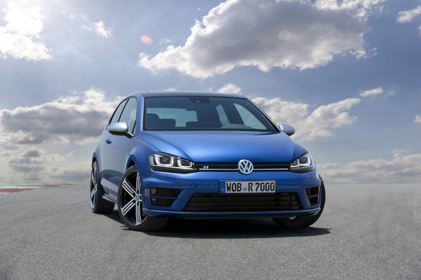 Volkswagen Golf R Mk7 first details – 300 PS, AWD Image #221284