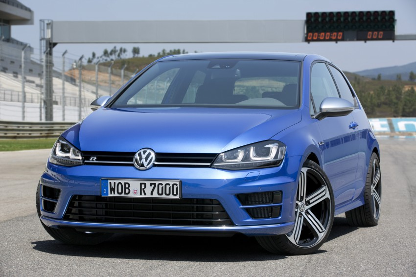 Volkswagen Golf R Mk7 first details – 300 PS, AWD Image #221286