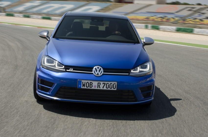 Volkswagen Golf R Mk7 first details – 300 PS, AWD Image #221288
