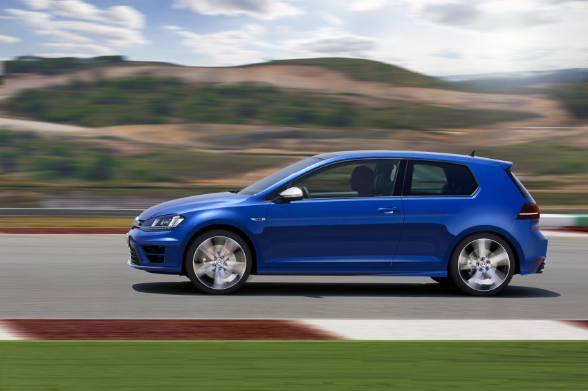 Volkswagen Golf R Mk7 first details – 300 PS, AWD Image #221289