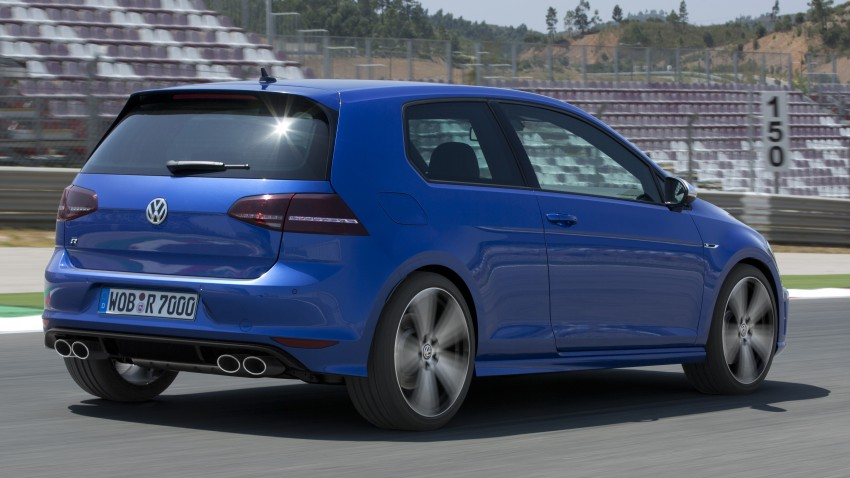 Volkswagen Golf R Mk7 first details – 300 PS, AWD Image #221290
