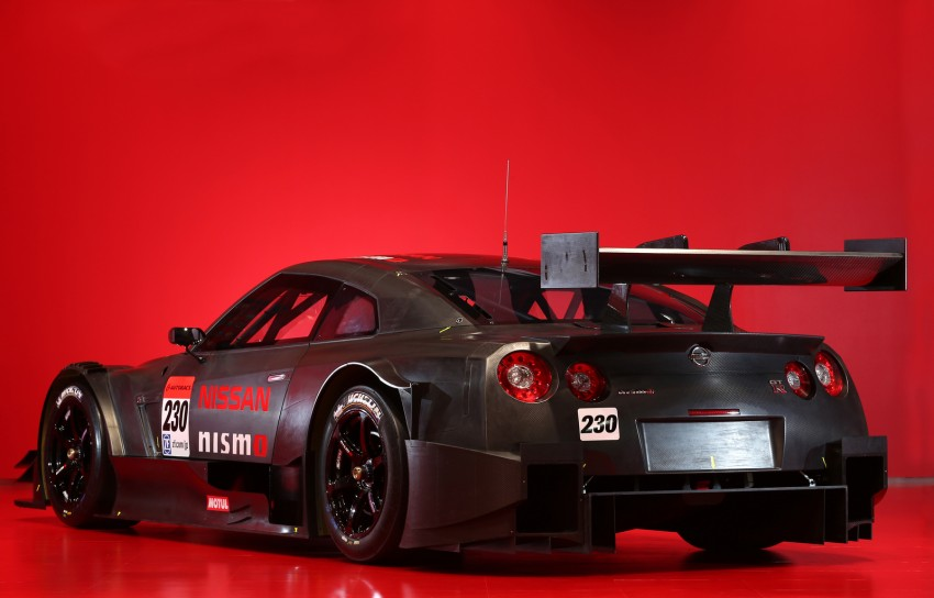 Nissan GT-R Nismo GT500 uncovered for Super GT Image #193294