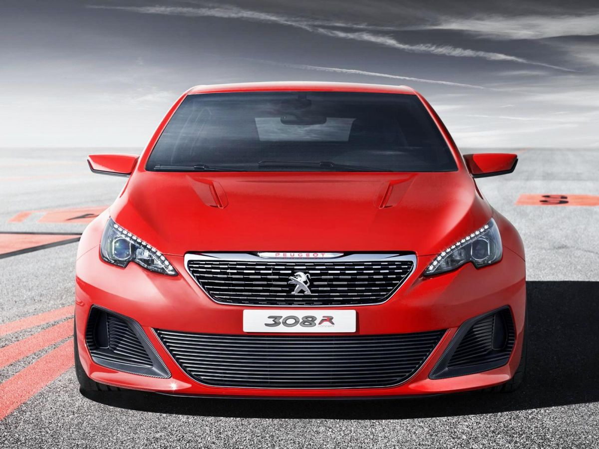 Peugeot 308 R concept to premiere in Frankfurt - first photos 2d4b150f45c