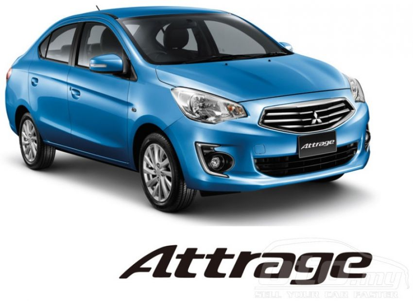 Mitsubishi Attrage on oto.my – RM65-70k estimated Image #192334