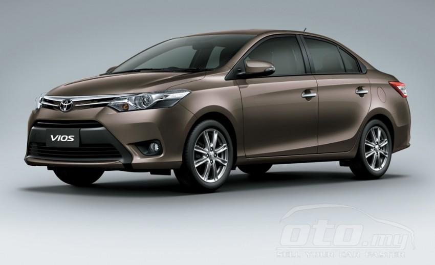 2013 Toyota Vios – specs list pops up on oto.my Image #192055