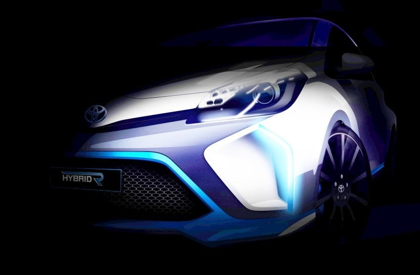 Toyota Hybrid-R Concept teased again, to have 400 hp Image #192395