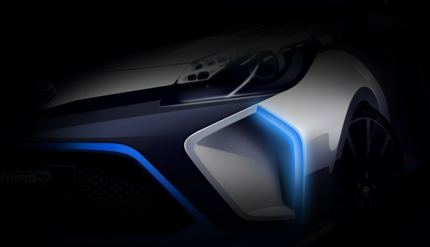 Toyota Hybrid-R Concept teased again, to have 400 hp Image #192394