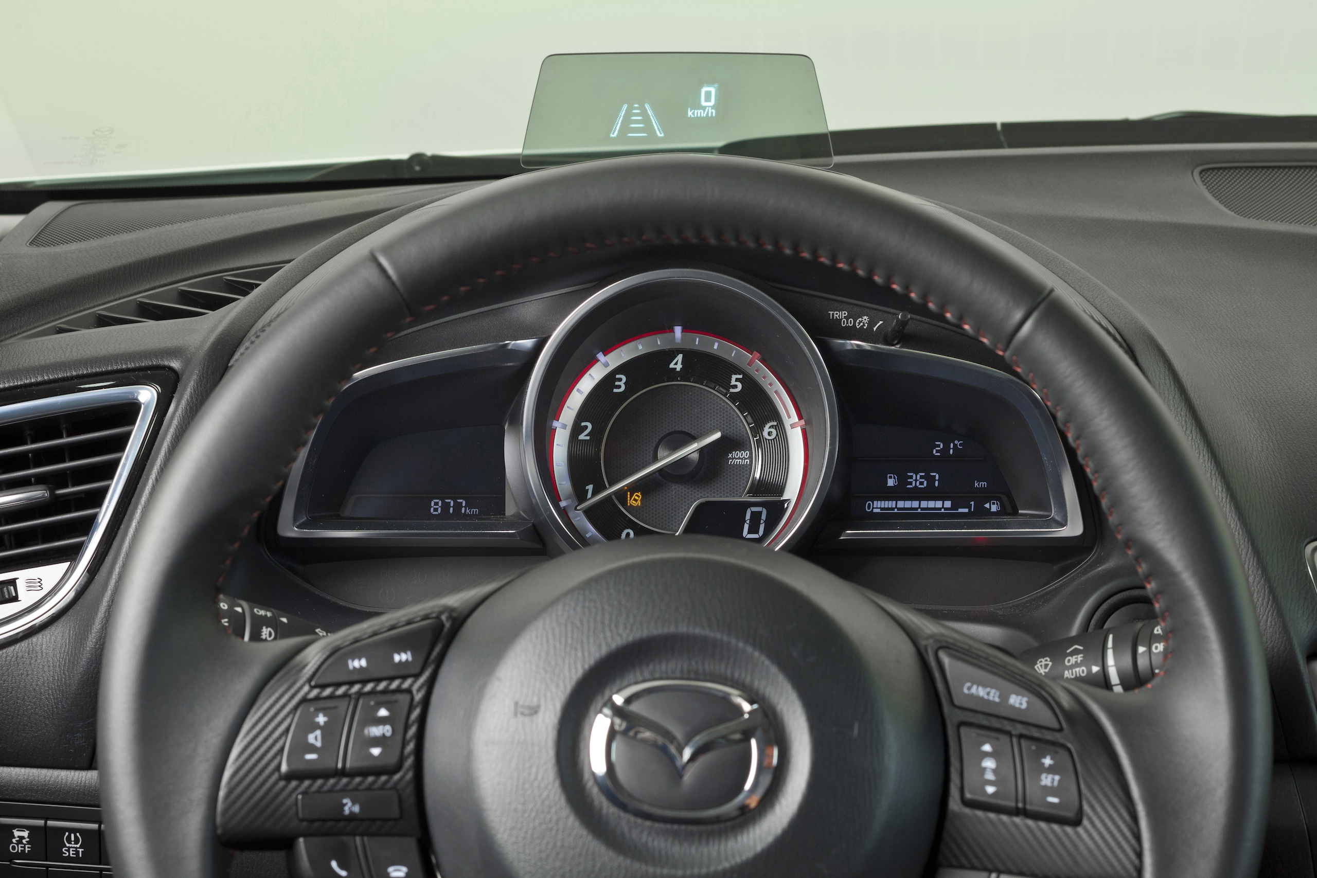 2014 Mazda3 arrives in Europe with MZD Connect HMI Paul ...
