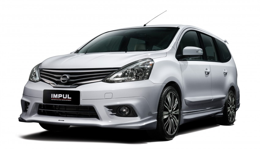 Nissan Grand Livina facelift introduced – from RM87k Image #200859