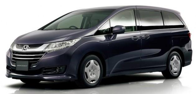 New Honda Odyssey Mpv Now Taller With Sliding Doors