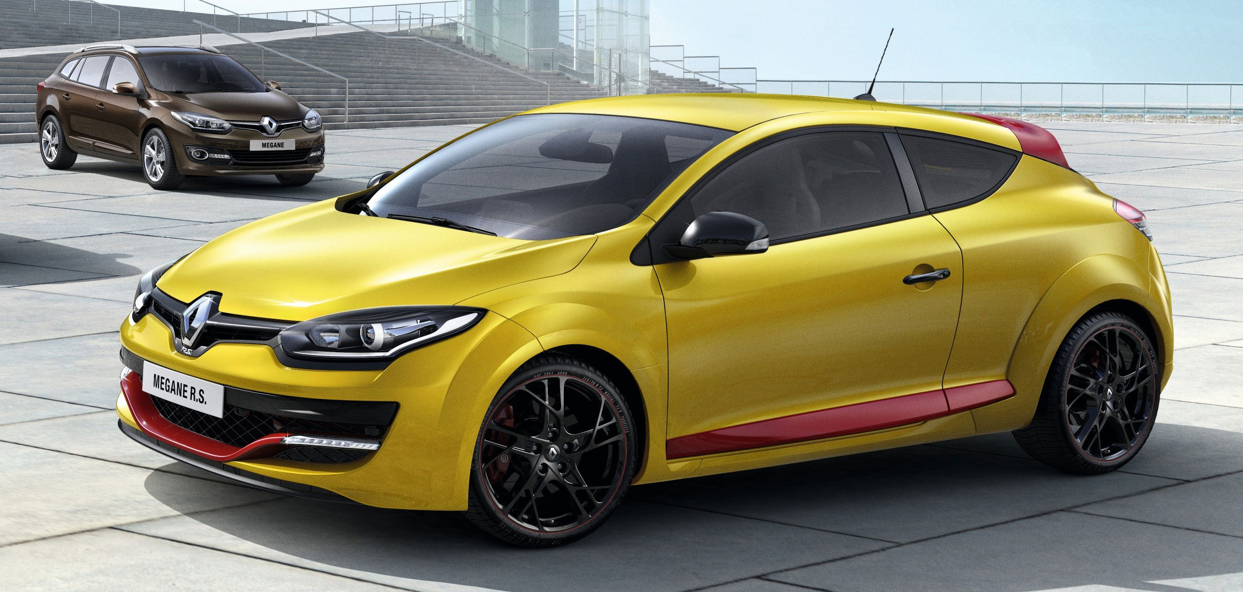 renault megane range gets new renault family nose. Black Bedroom Furniture Sets. Home Design Ideas