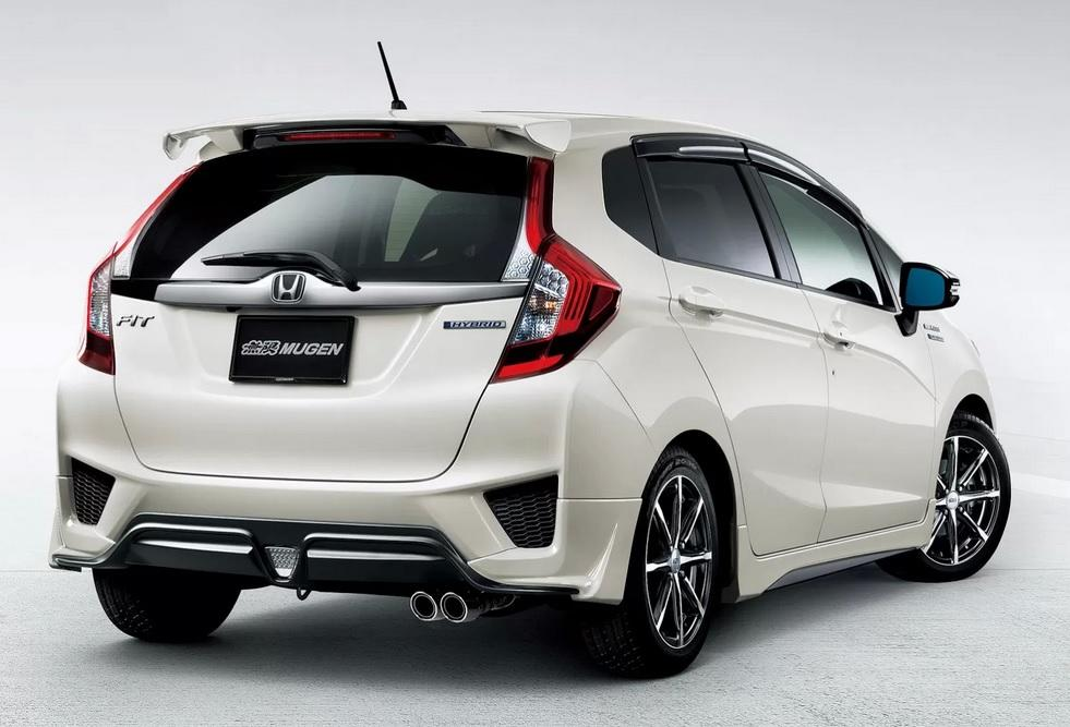 Mugen parts and accessories for the 2014 Honda Jazz Paul ...