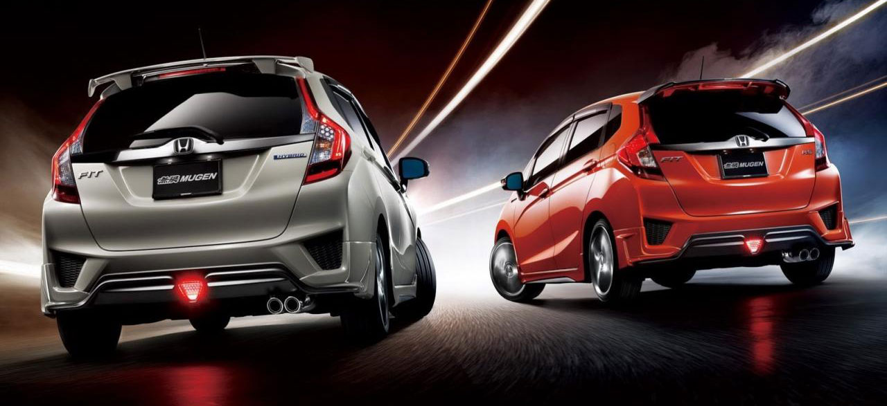 mugen parts and accessories for the 2014 honda jazz image