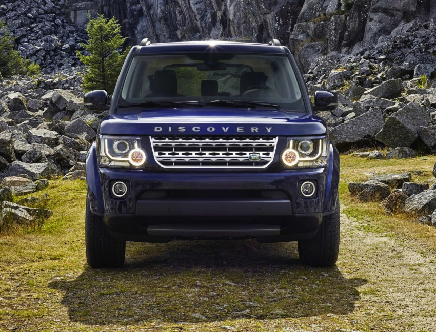 2014 Land Rover Discovery gets new looks and tech Image #195897