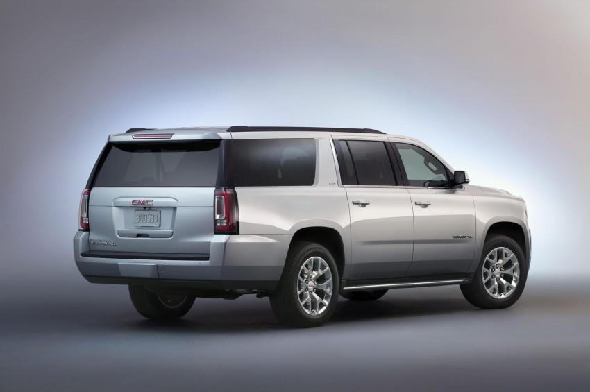 2015 Chevrolet Tahoe, LWB Suburban and its GMC Yukon, Yukon XL and Yukon Denali siblings unveiled Image #198933