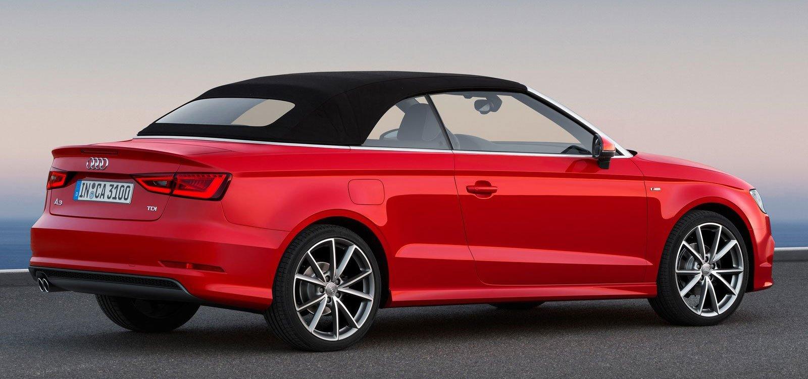 New Audi A3 Cabriolet Debuts At Frankfurt 2013 Paul Tan