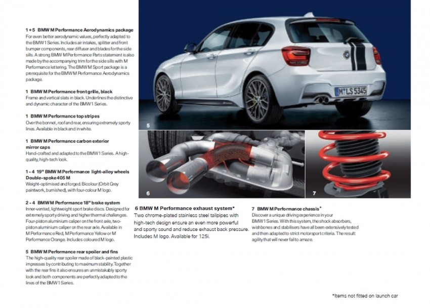 BMW 1 Series (F20) launched in Malaysia – 116i, 118i Sport/Urban, 125i Sport/M Sport, RM171k-254k Image #200121