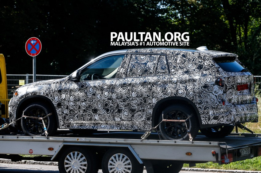 SPYSHOTS: Next-gen BMW X1 to be front-wheel drive? Image #199296