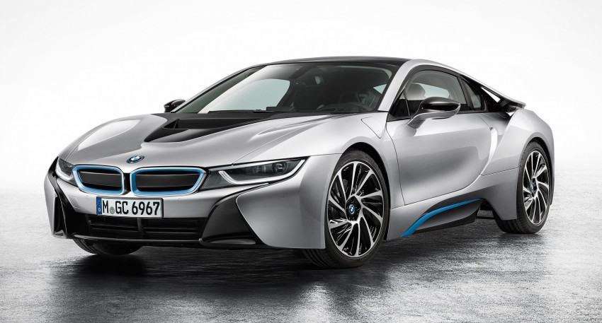 BMW i8 plug-in hybrid sports car – full official details Image #197783