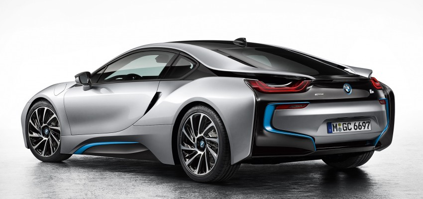 BMW i8 plug-in hybrid sports car – full official details Image #197784