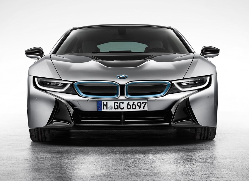 BMW i8 plug-in hybrid sports car – full official details Image #197787