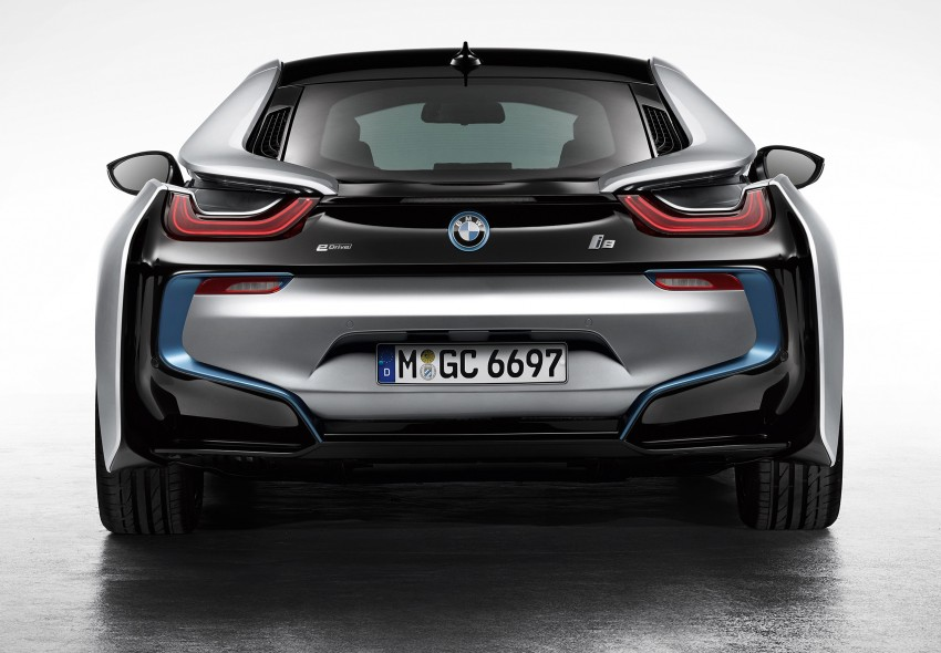 BMW i8 plug-in hybrid sports car – full official details Image #197790