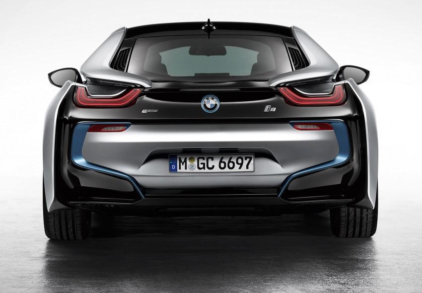 BMW i8 plug-in hybrid sports car – full official details Image #197790