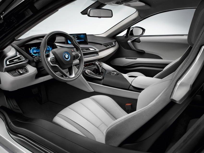 BMW i8 plug-in hybrid sports car – full official details Image #197794