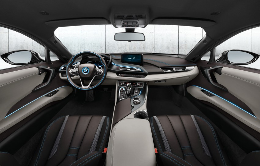 BMW i8 plug-in hybrid sports car – full official details Image #197796