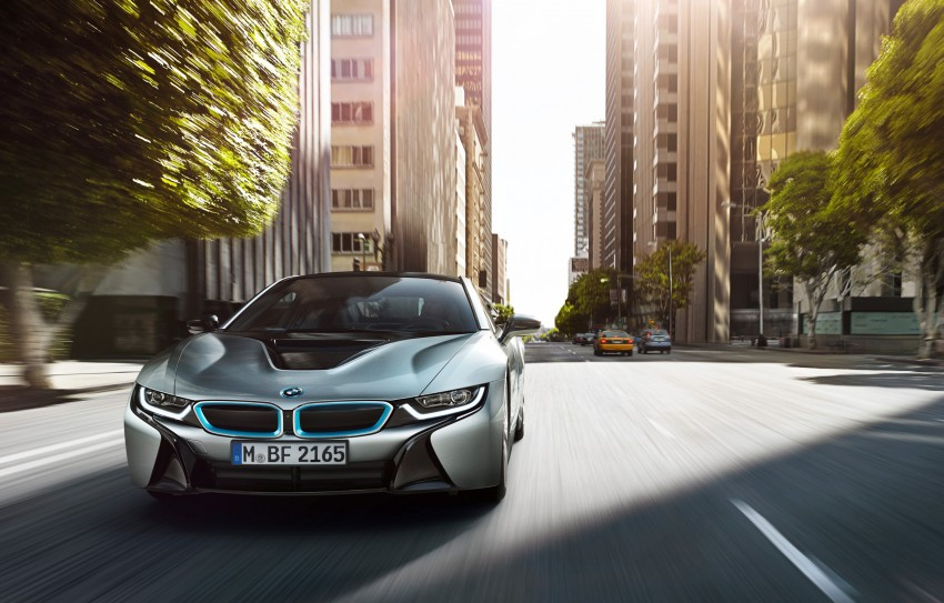 BMW i8 plug-in hybrid sports car – full official details Image #197799