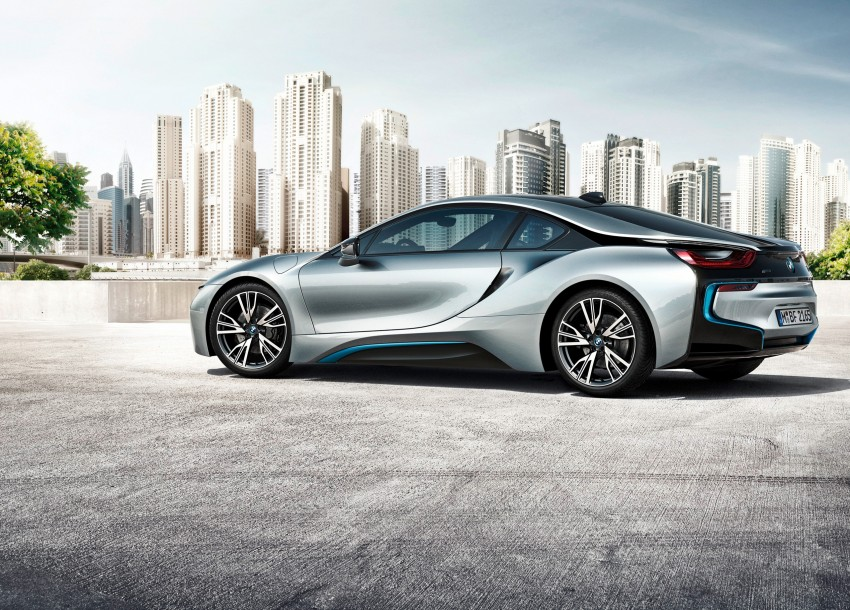 BMW i8 plug-in hybrid sports car – full official details Image #197802