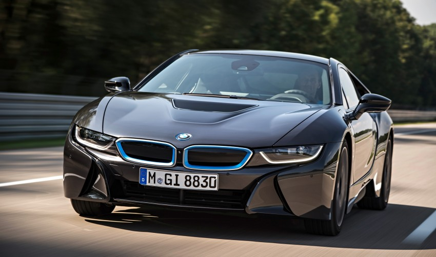 BMW i8 plug-in hybrid sports car – full official details Image #197803