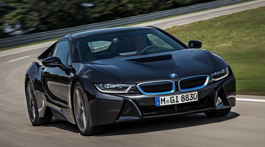 BMW i8 plug-in hybrid sports car – full official details Image #197806